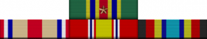 My US Marine Corps Ribbons